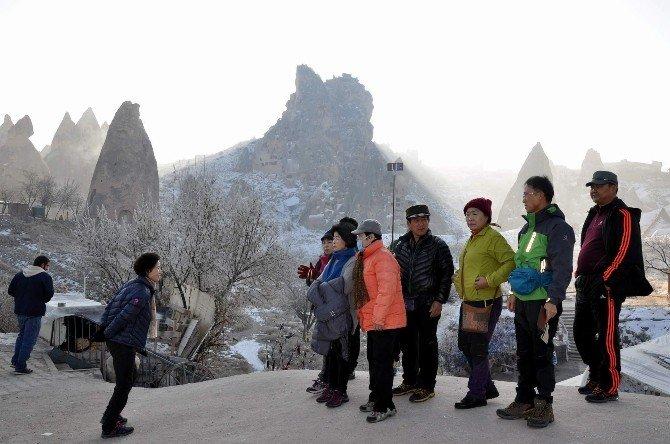 Kapadokya Bölgesinde 2015 Yılında Turist Sayısı Yüzde 6 Düştü