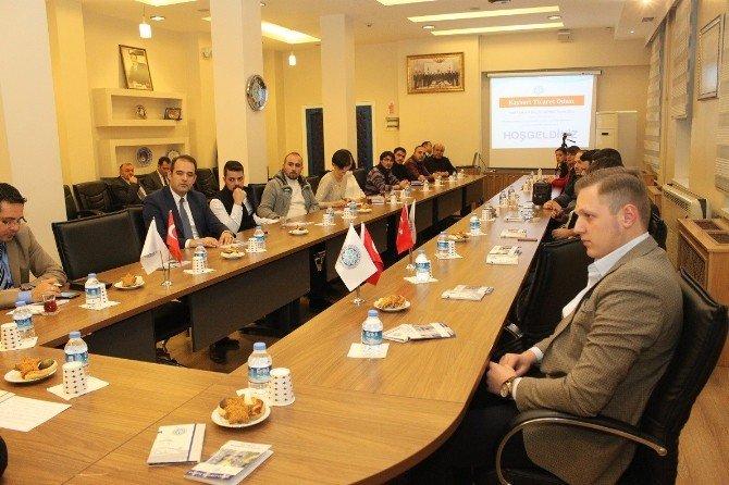 KTO'da Yeni Üye Bilgilendirme Toplantılarının 11. Etabı Gerçekleştirildi