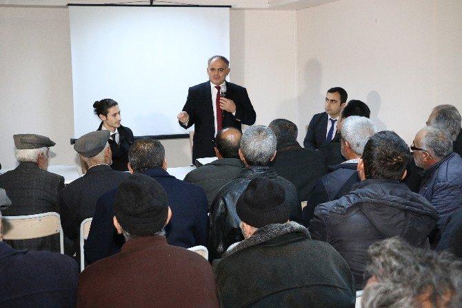 Yahyalı'da Kentsel Dönüşüm Toplantısı Yapıldı
