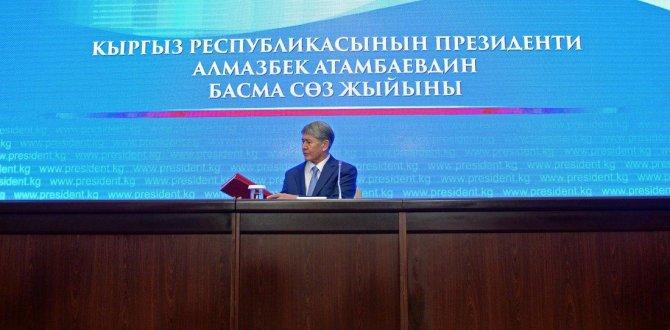 Atambayev: Türkiye, uçak düşürmekle hata etti