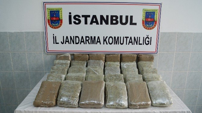 Jandarmadan 1 Milyon TL'lik Uyuşturucu Operasyonu