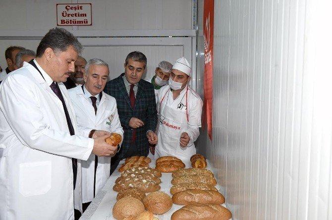 Ekmek Tünel Sistemi Düzenlenen Törenle Hizmete Girdi