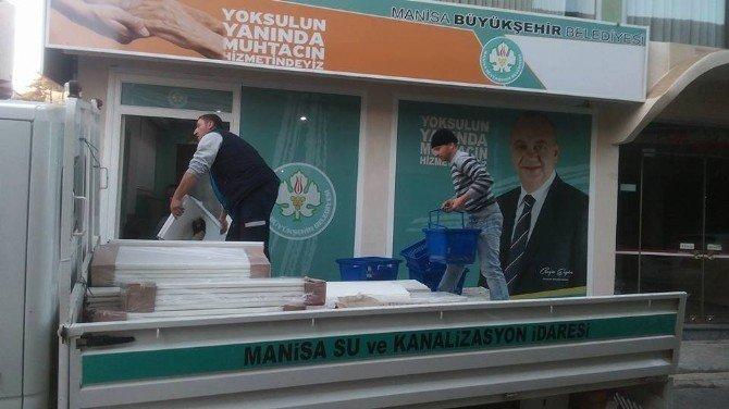 Demirci Gıda Bankası Ocak Ayında Hizmete Açılıyor
