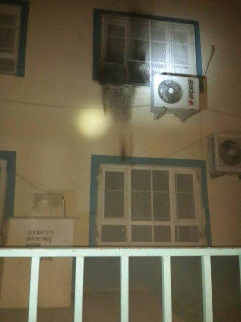 Tarsus'ta Okula Molotoflu Saldırı