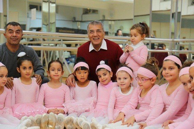 Mezitli Belediyesi, Çocuklar İçin İkinci Bale Kursunu Da Açacak