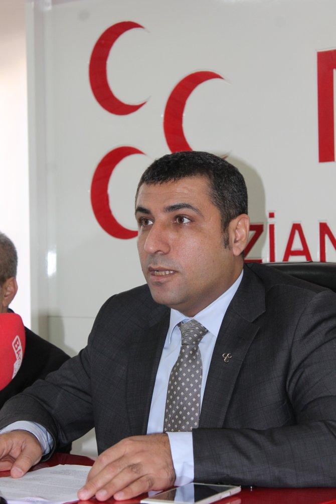 MHP İl Başkanı: Yetkililer enerjisini terör örgütleri ile mücadeleye versin