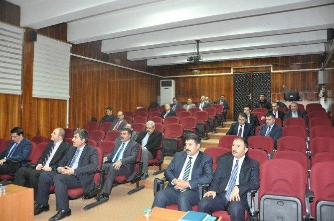 Muş Su Yönetimi Koordinasyon Kurulu Toplantısı