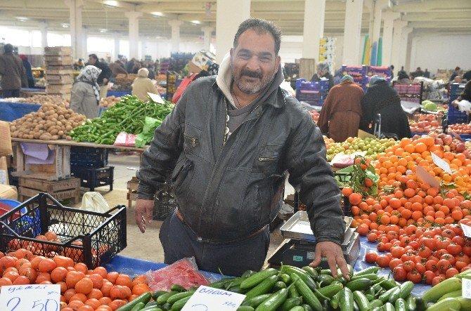 Salata Ve Domates Fiyatları Tavan Yaptı