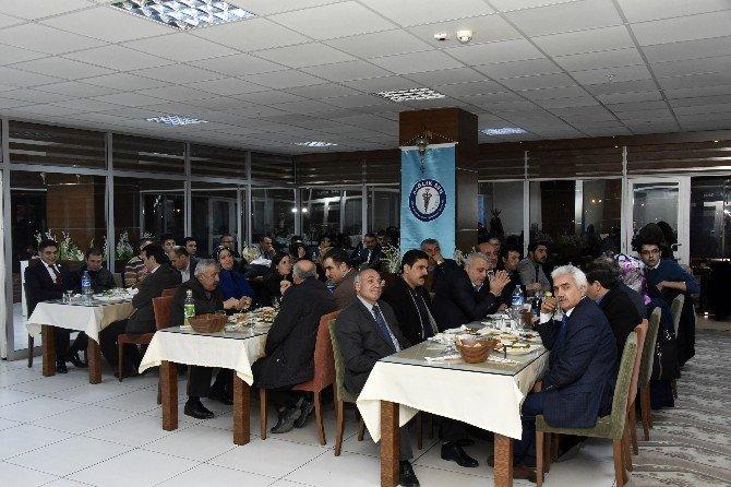 Sağlık-sen Genel Başkanı Metin Memiş Gümüşhane'de