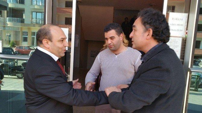 AK Parti Edremit Teşkilatı Daire Müdürleri Ve Odayı Ziyaret Etti