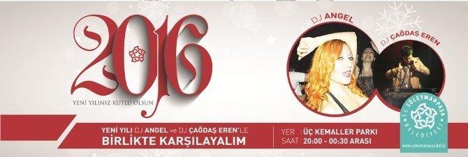 Süleymanpaşa Yeni Yıla Üç Kemaller Parkı'nda Girecek