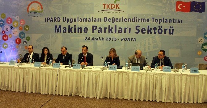 """TKDK """"Makine Parkları Sektör Toplantısı""""nı Konya'da Gerçekleştirdi"""
