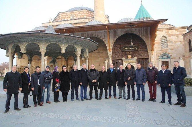 Türk Dünyası Selçuklu'da Toplandı
