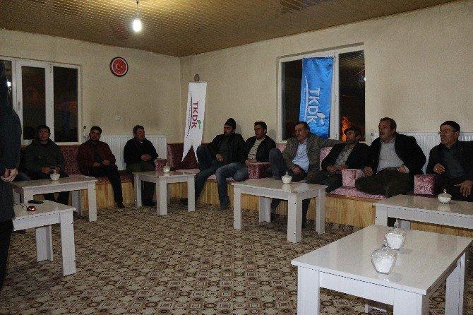 TKDK Hibe Desteklerini Köy Köy Dolaşarak Anlatılıyor