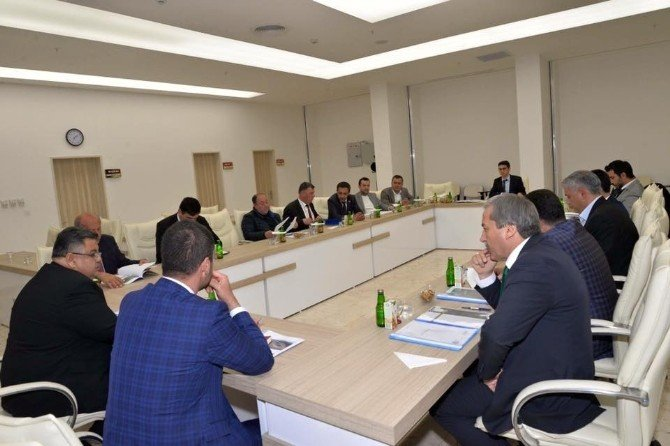 Bilecik Belediyeler Birliği Üyeleri Bir Araya Geldi