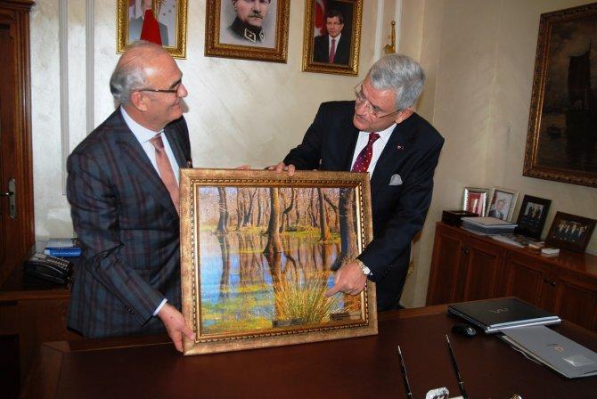 AB Bakanı Bozkır: Samsun-Kalın Demiryolu Projesi, 2017'de bitecek