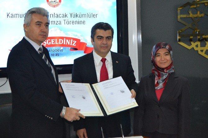 Vali Düzgün İle Cumhuriyet Başsavcısı Usta Arasında İşbirliği Protokolü
