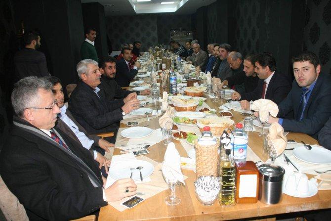 Başkan Arslan, Yozgatspor'a destek olan iş adamları ile yemekte bir araya geldi