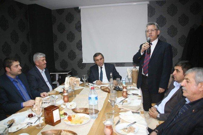 Yozgat Belediye Başkanı Kazım Arslan Yozgatspor'a Destek Veren İş Adamlarına Teşekkür Etti