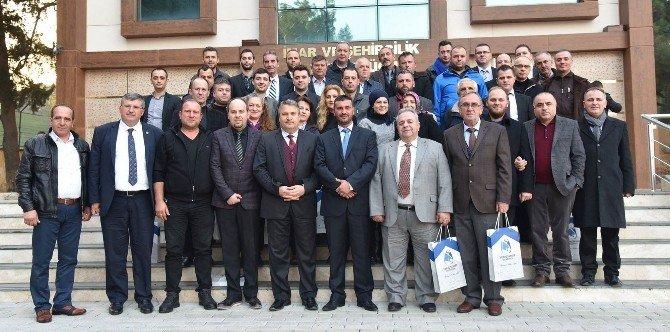 Başkan Çerçi, Mak-göç Derneğini Ağırladı