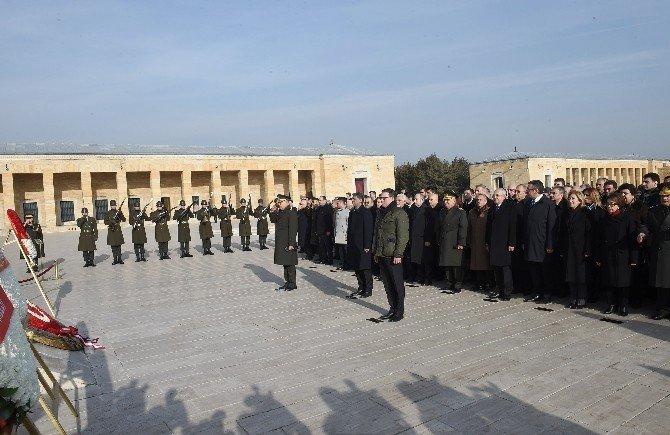 2. Cumhurbaşkanı İnönü Mezarı Başında Anıldı