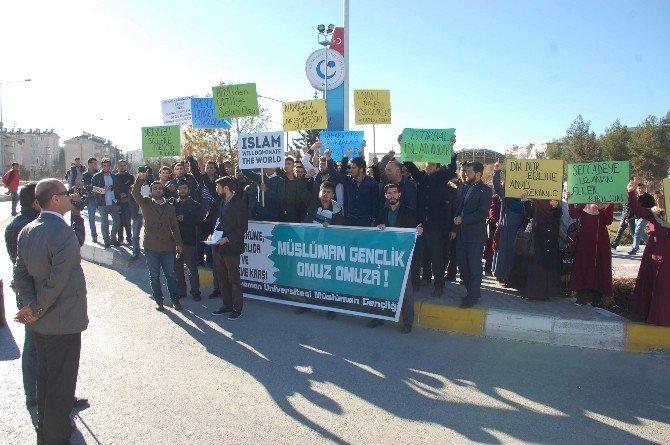 ODTÜ'deki Olayları Adıyaman'da, Protesto Edildi