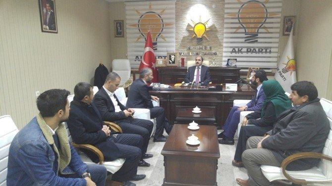 AK Ocaklar Genel Başkanı Yiğit'ten Soğanda'ya Ziyaret