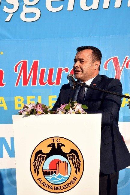 Alanya Belediyesi Asfalt Üretim Tesisi Törenle Hizmete Girdi