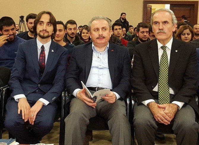 Anayasa Komisyonu Başkanı Mustafa Şentop:
