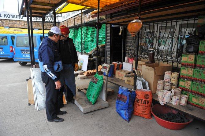Başkentte kömür satıcılarına zabıta denetimi sıklaştı