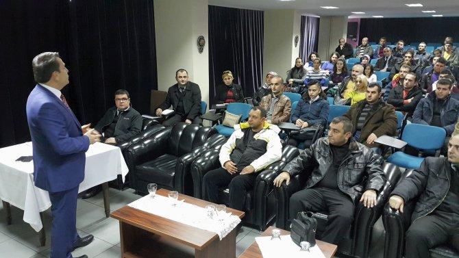 Artvin'de özel güvenlikçilere dolandırıcılık eğitimi verildi