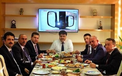 Başkan Yücel'den, Başkan Ersoy'a Ziyaret
