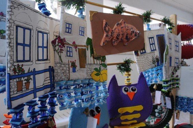 Bodrum'da 19'uncu Yılbaşı Pazarı Açıldı