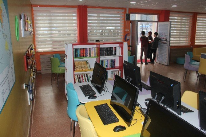 Bozkurt'ta Z-kütüphane Hizmete Açıldı