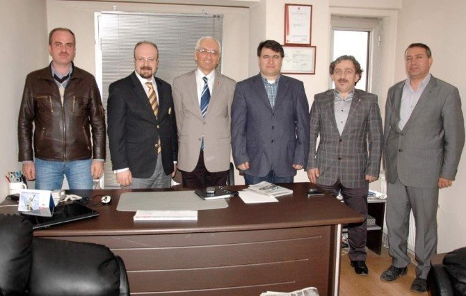 Kütahya Gazeteciler Cemiyeti'nde Başkanlık Görevine Alaaddin Akkaşoğlu Getirildi