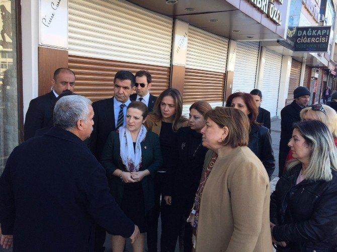 CHP Heyeti Diyarbakır'da İncelemelerde Bulundu