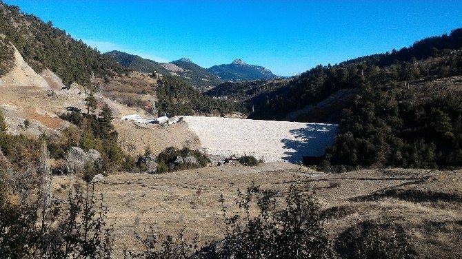 Geyikbayırı Karadere Barajı Ve Sulaması'nda Sona Gelindi