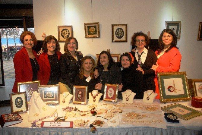 Eskişehir Olgunlaşma Enstitüsü 56'ncı Yaşını 'Karma Sergi' İle Kutladı