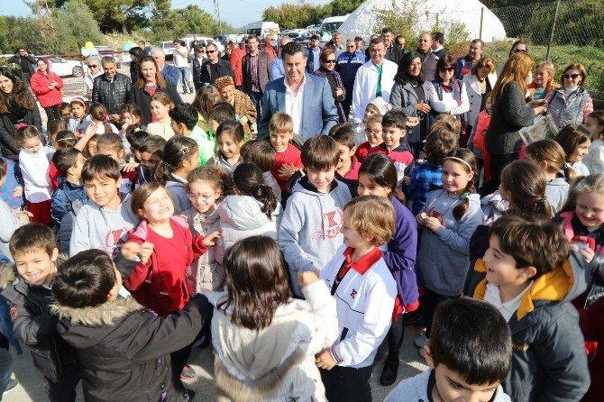 Bodrum'da Yenilenen Geçici Bakım Merkezi Açıldı