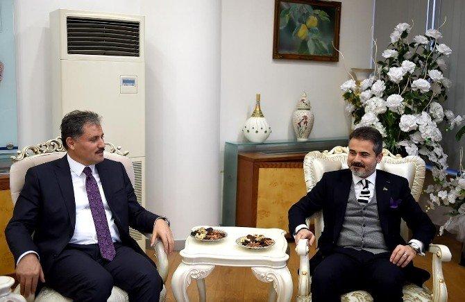 Gençlik Ve Spor Eski Bakanı Suat Kılıç, Başkan Çakır'ı Ziyaret Etti