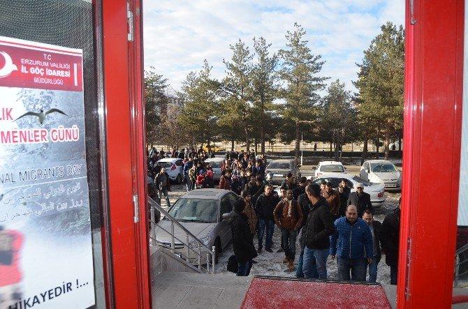 Erzurum İl Göç İdaresi Yabancıları Bilgilendirme Toplantısı
