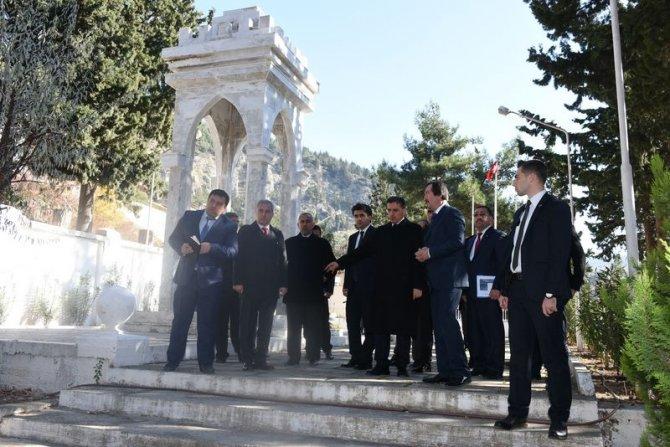 Vali Topaca, Tarihi Belen Geçidi'nde incelemelerde bulundu