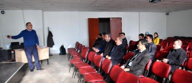 Hizan'da Memurlara Protokol Eğitimi