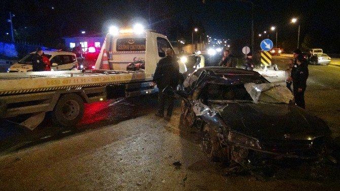 Bilecik'te Trafik Kazası, 1 Ölü 1 Yaralı