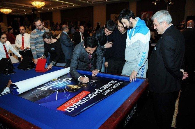 Türkiye 3 Bant Bilardo Şampiyonası Tamamlandı