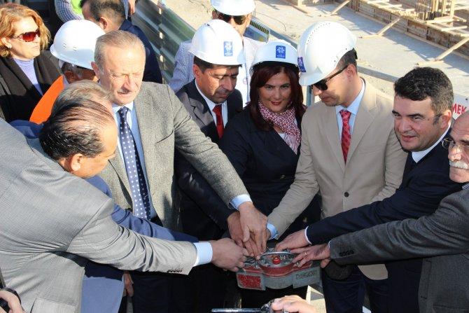 Koçarlı Belediyesi'nin yeni hizmet binasının temeli atıldı