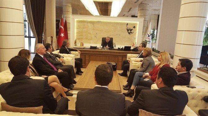 Baksifed Yönetimi Manavgat'ta Toplandı