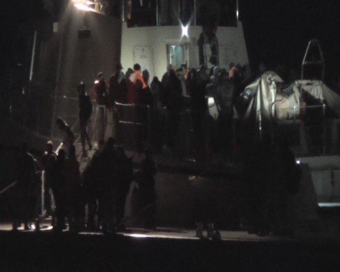 Marmaris'te 200 Mülteci Yakalandı
