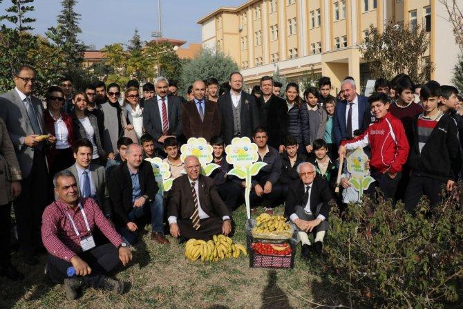 Öğrenciler okul bahçesinde sebze yetiştirecek