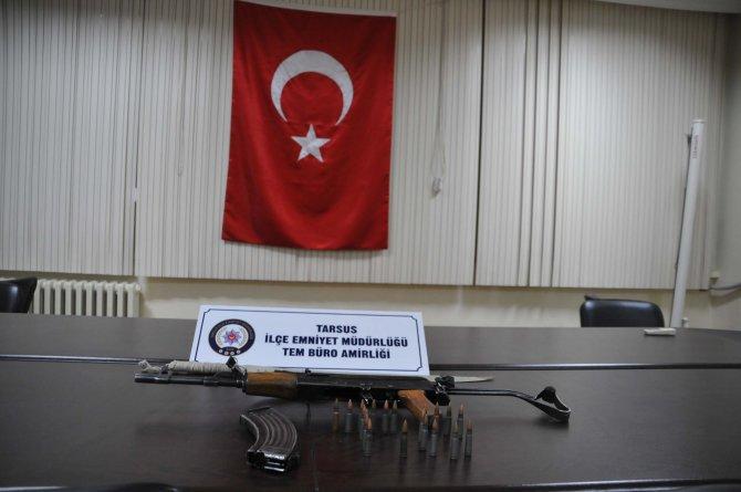 Tarsus'ta operasyon: 4 gözaltı